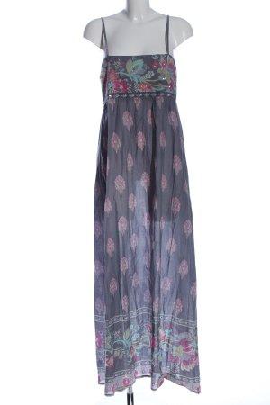 Accessorize Maxi Dress flower pattern casual look