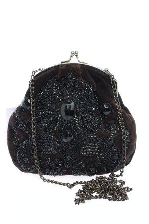 Accessorize Mini Bag brown-black wet-look