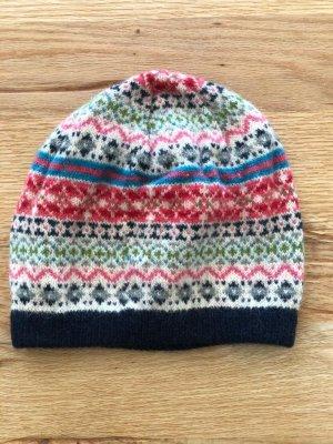 Accessorize Chapeau en tricot multicolore