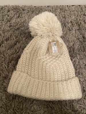 Accessorize Fabric Hat cream