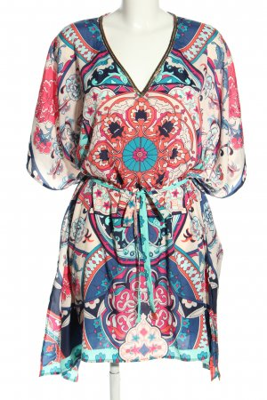 Accessorize Oversized Bluse abstraktes Muster Casual-Look