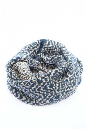 Accessorize Snood blauw-wolwit volledige print casual uitstraling