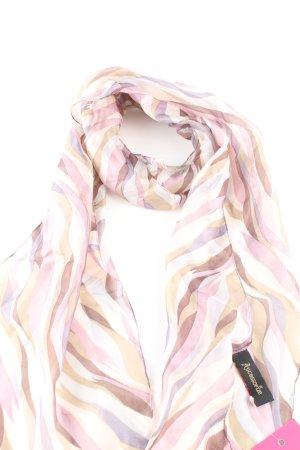 Accessorize Écharpe en soie motif rayé style décontracté