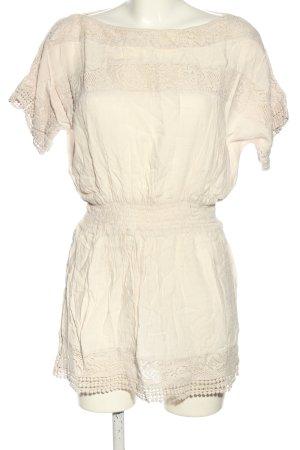 Accessorize Vestido de encaje blanco puro look casual