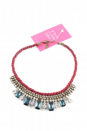 Accessorize Statement Necklace multicolored wet-look