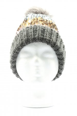 Accessorize Knitted Hat light grey casual look