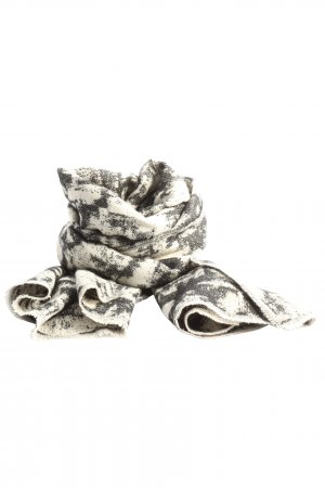 Accessorize Neckerchief light grey-white abstract pattern casual look