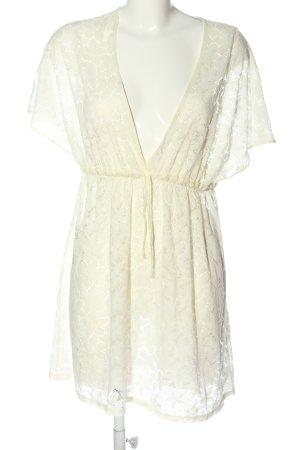 Accessorize Blusa a tunica bianco sporco elegante
