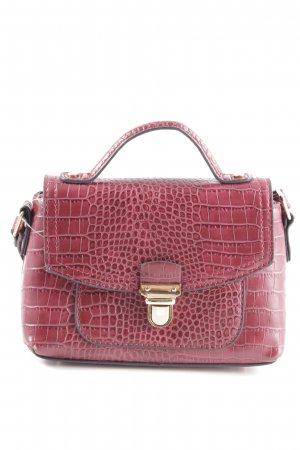 Accessorize Crossbody bag red animal pattern business style