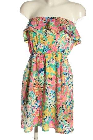 Accessorize Volante jurk volledige print casual uitstraling