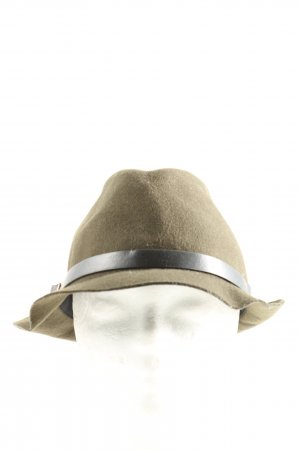 Accessorize Woolen Hat khaki casual look