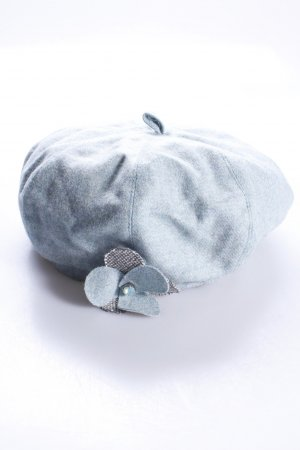 Accessorize Cap grey-turquoise wool