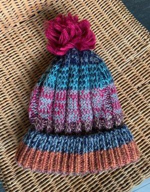 Accessorize Sombrero de punto multicolor