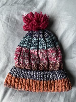 Accessorize Knitted Hat magenta-orange