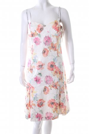 Acciaio Cocktail Dress flower pattern casual look