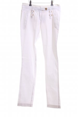 Acciaio High-Waist Hose weiß Casual-Look
