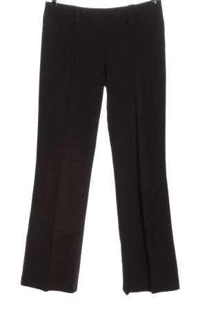 Acciaio Pantalon en jersey brun style d'affaires
