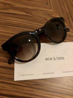 Ace & Tate Occhiale da sole rotondo multicolore Acetato