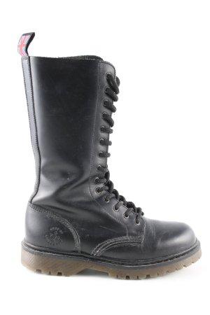 Aces of London Botas con cordones negro look casual