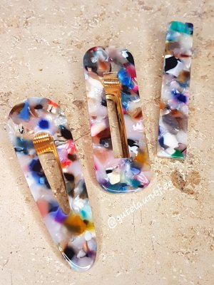 Barrette multicolore