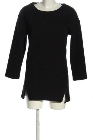 Achielry Long Sweater black casual look