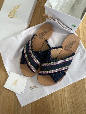 Ancient greek sandals Roman Sandals multicolored
