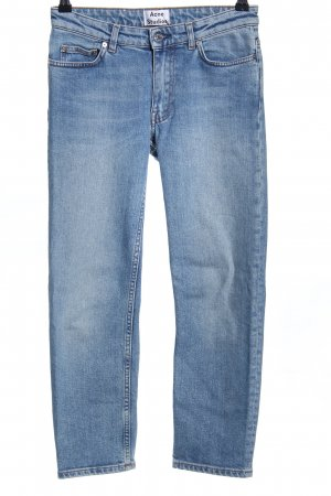 Acne 7/8-jeans blauw casual uitstraling