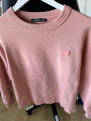 Acne Felpa rosa chiaro