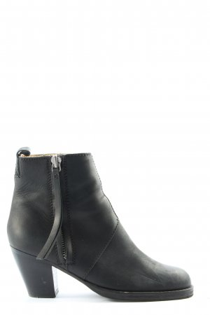 Acne Ankle Boots black casual look