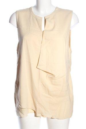 Acne Camisa de mujer amarillo pálido look casual
