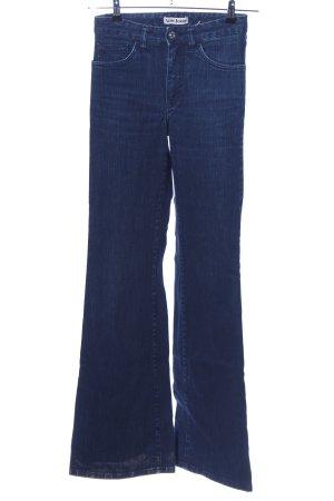Acne Boot Cut Jeans blau Casual-Look