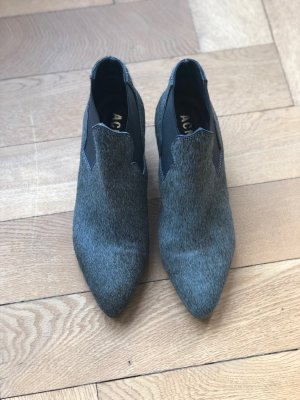 Acne Santiag gris vert-gris cuir