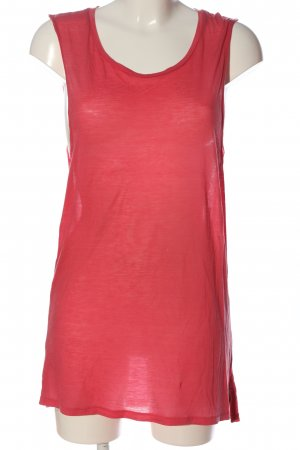 Acne Camisole rood gestippeld casual uitstraling