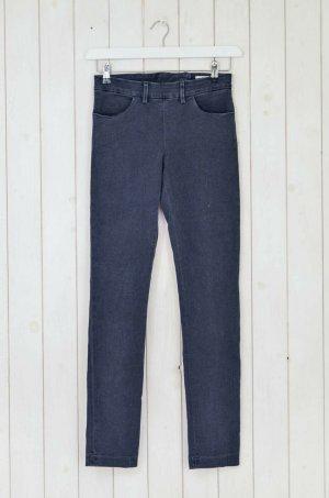 Acne Stretch Jeans dark grey cotton