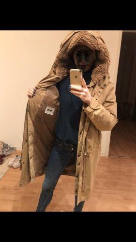 Acne Winterjas camel-beige