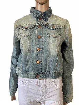 Acne Blazer in jeans blu fiordaliso-azzurro Cotone
