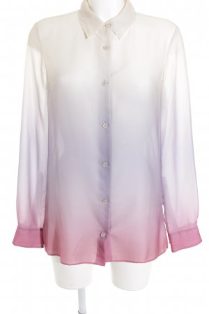 Acne Blusa brillante degradado de color look casual