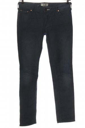 Acne Low-Rise Trousers blue casual look