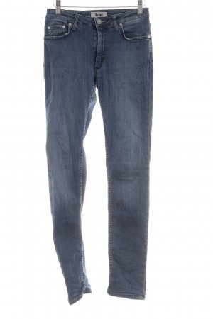 Acne Low Rise jeans blauw casual uitstraling