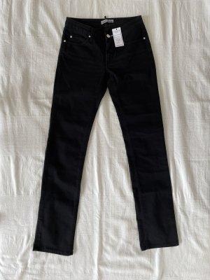 Acne Slim jeans zwart