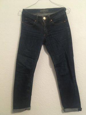 Acne Jeans Jeansy rurki ciemnoniebieski