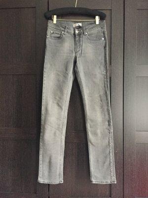 Acne Jeans coupe-droite multicolore
