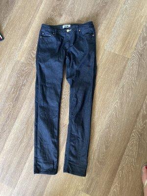Acne Dopasowane jeansy niebieski