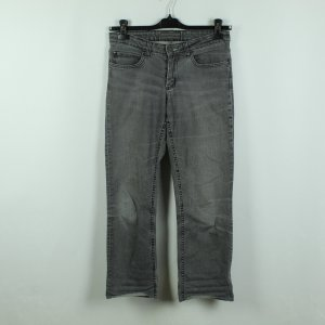 Acne Jeans 3/4 Length Jeans anthracite cotton