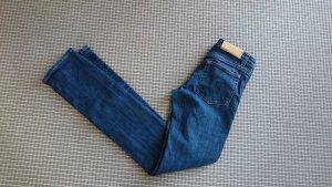 Acne Jeans slim fit blu scuro Cotone