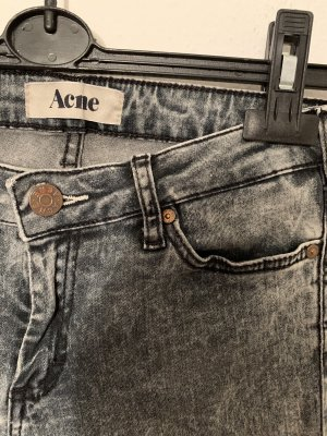 Acne Jeans cigarette multicolore