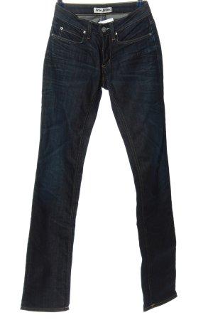Acne Jeansy z prostymi nogawkami niebieski W stylu casual