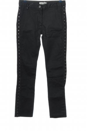 Acne Jeans Straight Leg Jeans black casual look