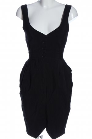 Acne Jeans Pinafore dress black casual look