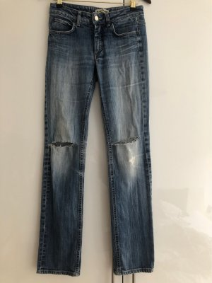 Acne Jeans Straight Leg Jeans multicolored